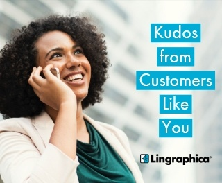 Kudos from Customers Like You