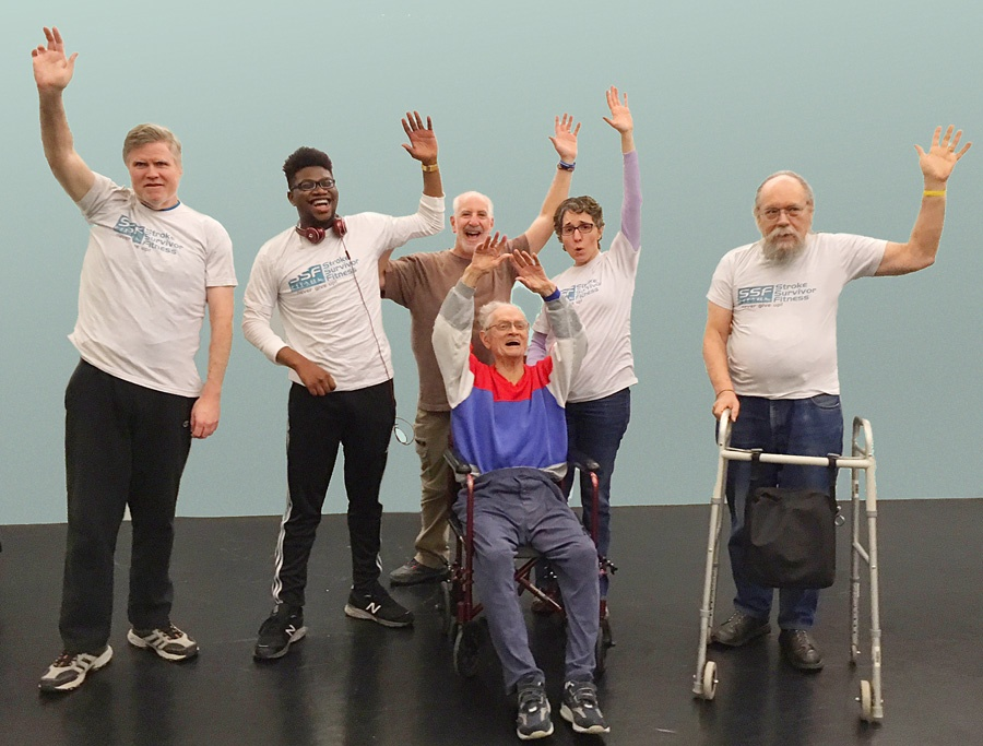 Work Out Your Words: A Fitness Class for Stroke Survivors